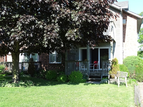 Great Place to stay Grand Bend Ontario, River View- Short Walk TO THE Beach near Grand Bend