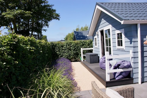 Modern Chalet in Renesse on Camping Julianahoeve, 300 Meters to the Beach