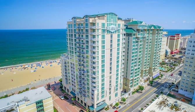 Beautiful Oceanfront 2 Bedroom Luxury Suite At Oceanaire Resort Upscale Resort In Virginia Beach Va Expedia