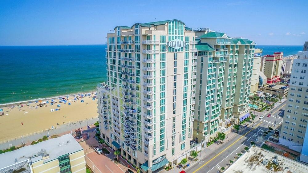 Beautiful Oceanfront 2 Bedroom Luxury Suite At Oceanaire Resort Upscale Resort In Virginia Beach Hotel Rates Reviews On Orbitz