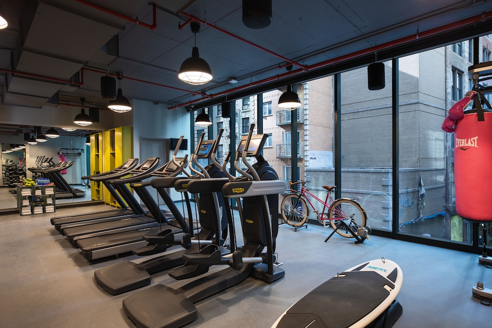 Fitness Facility, Moxy NYC Downtown