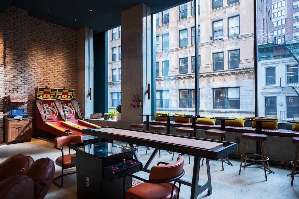 Game Room, Moxy NYC Downtown