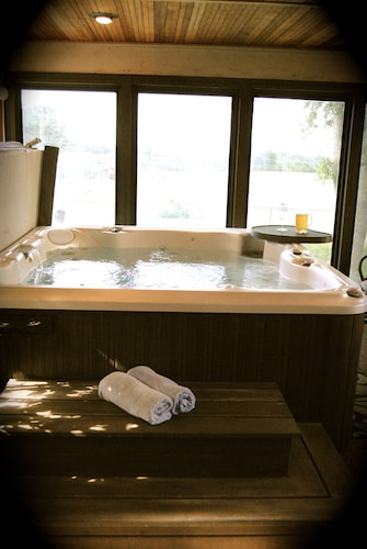 Great Place to stay Private Pool and Indoor Hottub Within Miles of MSP Airport & MOA With Skyline near Minneapolis