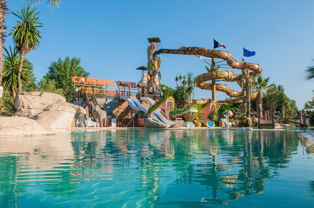 Camping Spa Cap Soleil In Beziers Cheap Hotel Deals Rates On