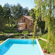 Villa With 6 Bedrooms in Mussidan, With Private Pool, Enclosed Garden and Wifi