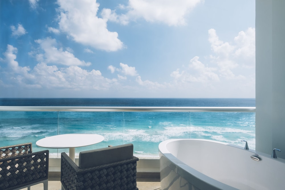 View from Room, Coral Level at Iberostar Selection Cancun Adults Only - All Inclusive