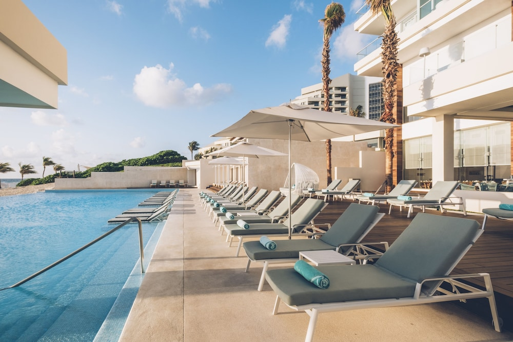 Outdoor Pool, Coral Level at Iberostar Selection Cancun Adults Only - All Inclusive