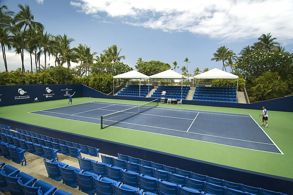 Tennis Court, Ocean Tower by Hilton Grand Vacations