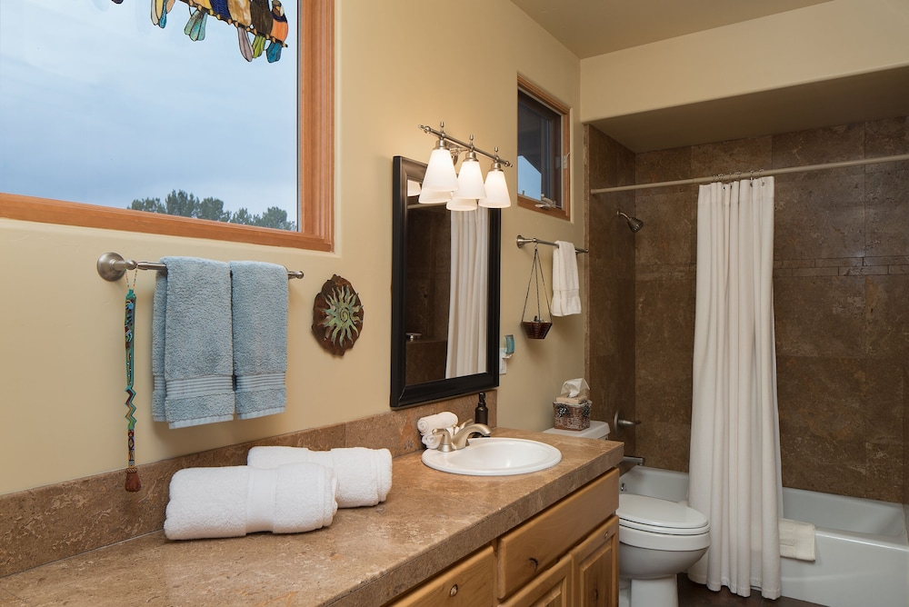 Bathroom, Ranch House Retreat By The River ~ South Of Sedona Red Rocks