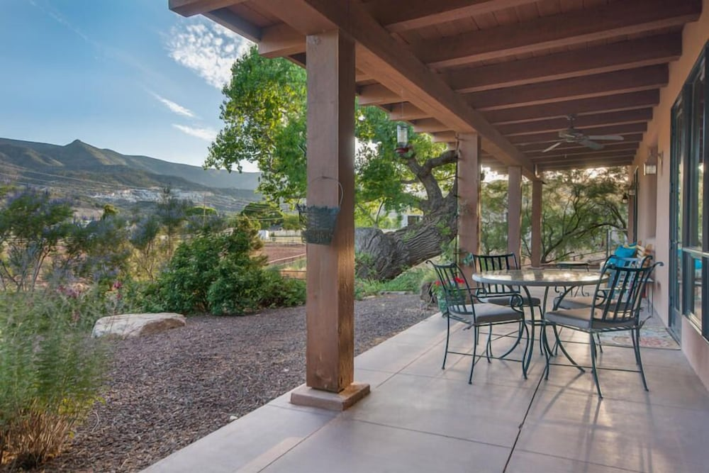 Terrace/Patio, Ranch House Retreat By The River ~ South Of Sedona Red Rocks
