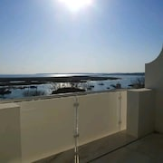 Fabulous Renovated Town House With Arguably the Best Ocean View in Alvor 11349al