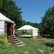 Almond Grove Yurt Hotel
