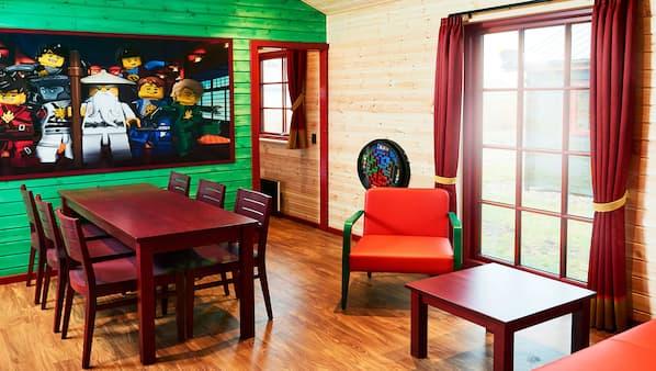 2 soveværelser, baby-/barnesenge (tillægsgebyr), gratis Wi-Fi