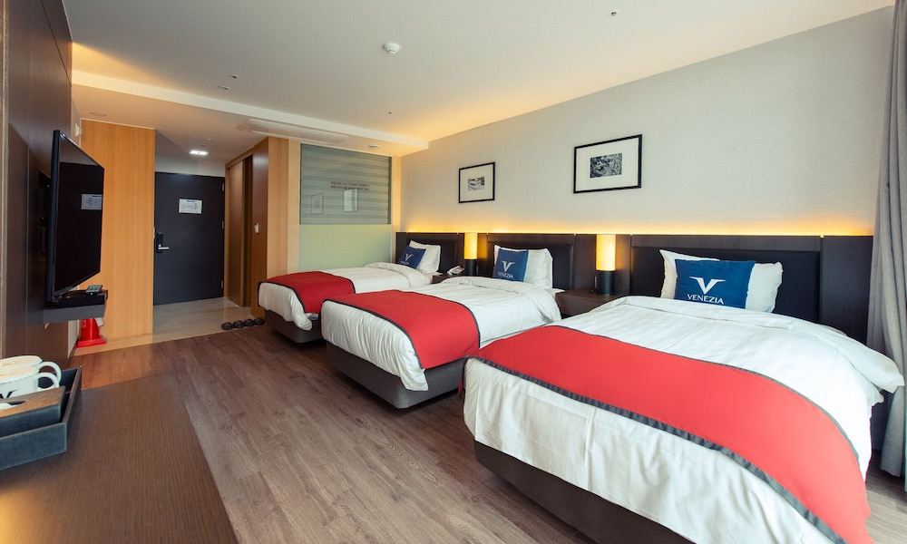 Room, Yeosu Venezia Hotel & Resort