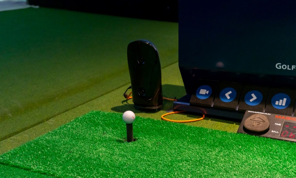 Indoor Golf Driving Range, Yeosu Venezia Hotel & Resort