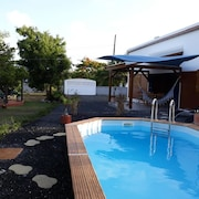 Villa With 2 Bedrooms in Le Moule, With Private Pool, Enclosed Garden and Wifi - 4 km From the Beach