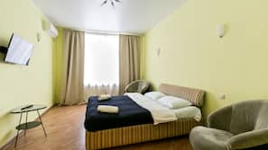 2 bedrooms, individually furnished, iron/ironing board, rollaway beds