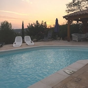 Villa With 3 Bedrooms in Cotignac, With Wonderful City View, Private Pool, Enclosed Garden - 15 km From the Beach