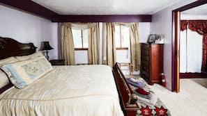 埃及棉床單、高級寢具、羽絨被、免費 Wi-Fi