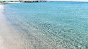 In Strandnähe, weißer Sandstrand, Shuttle zum Strand, Strandtücher