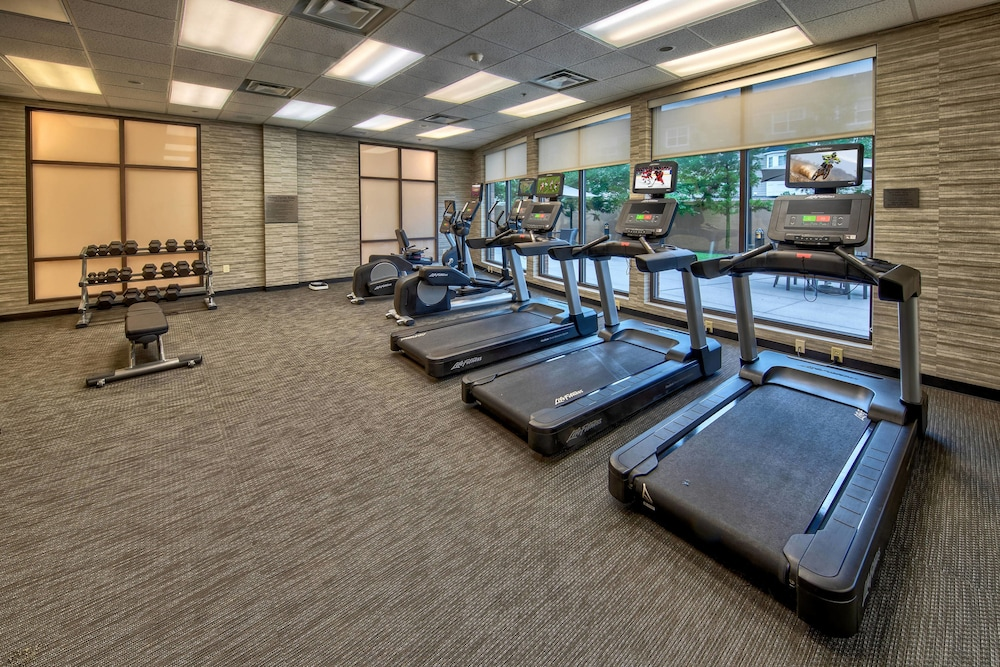 Fitness Facility, Courtyard by Marriott Newport News Airport