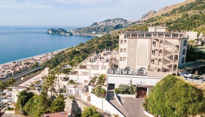 Hotel Olimpo Le Terrazze In Letojanni Italy Expedia