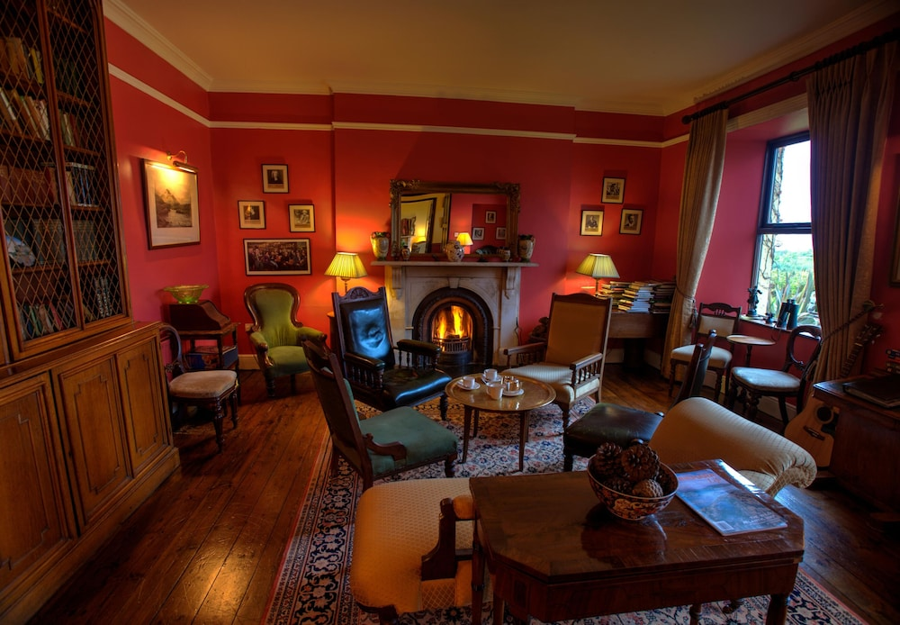 Lounge, Lough Inagh Lodge Hotel
