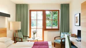 Allergikerbettwaren, Zimmersafe, Verdunkelungsvorhänge