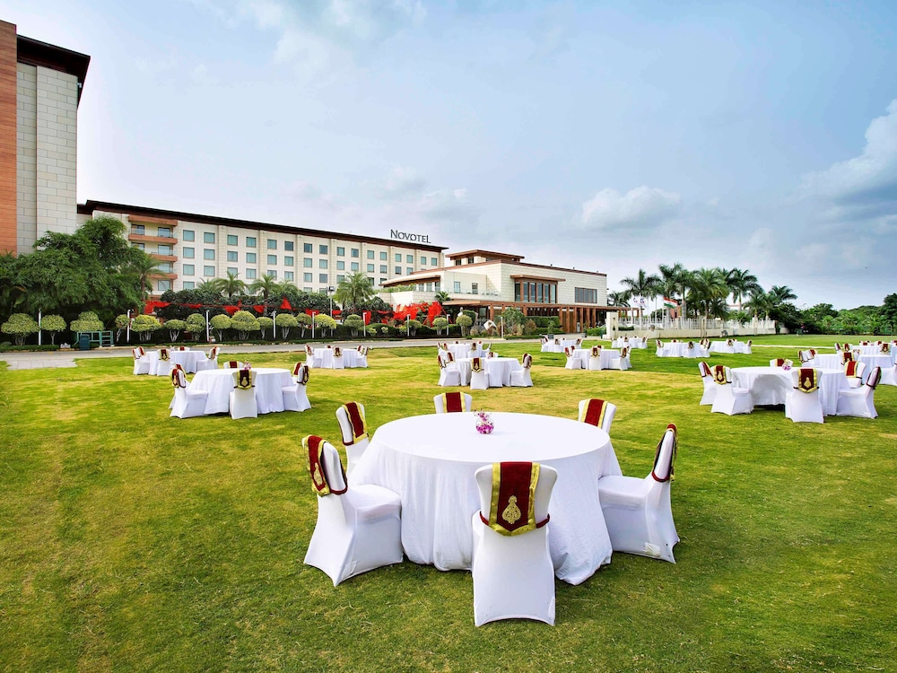 Outdoor Banquet Area, Novotel Hyderabad Airport Hotel