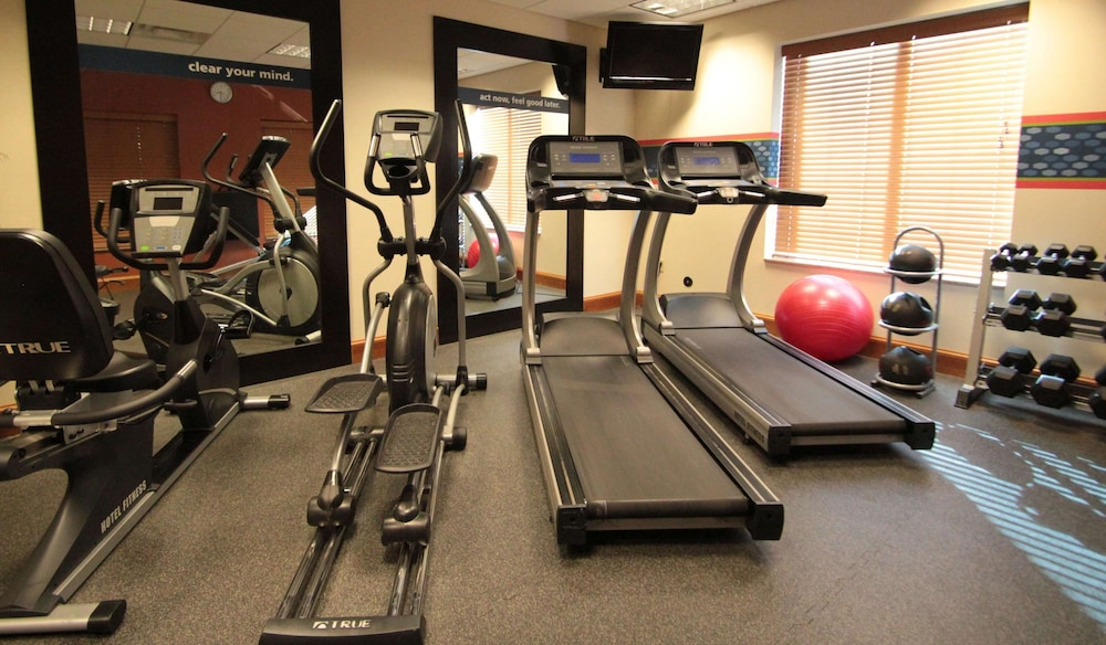 Fitness Facility, Hampton Inn Hampton-Newport News