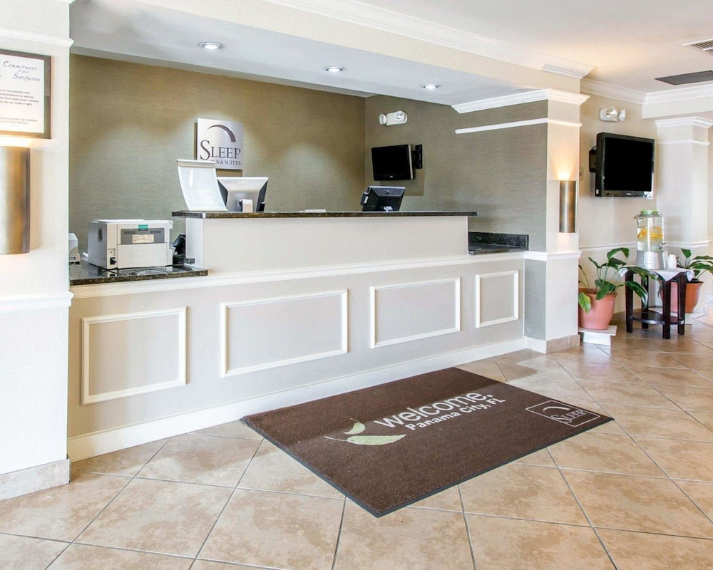 Sleep Inn And Suites Panama City Beach 2 5 Out Of 0 Exterior Featured Image Lobby
