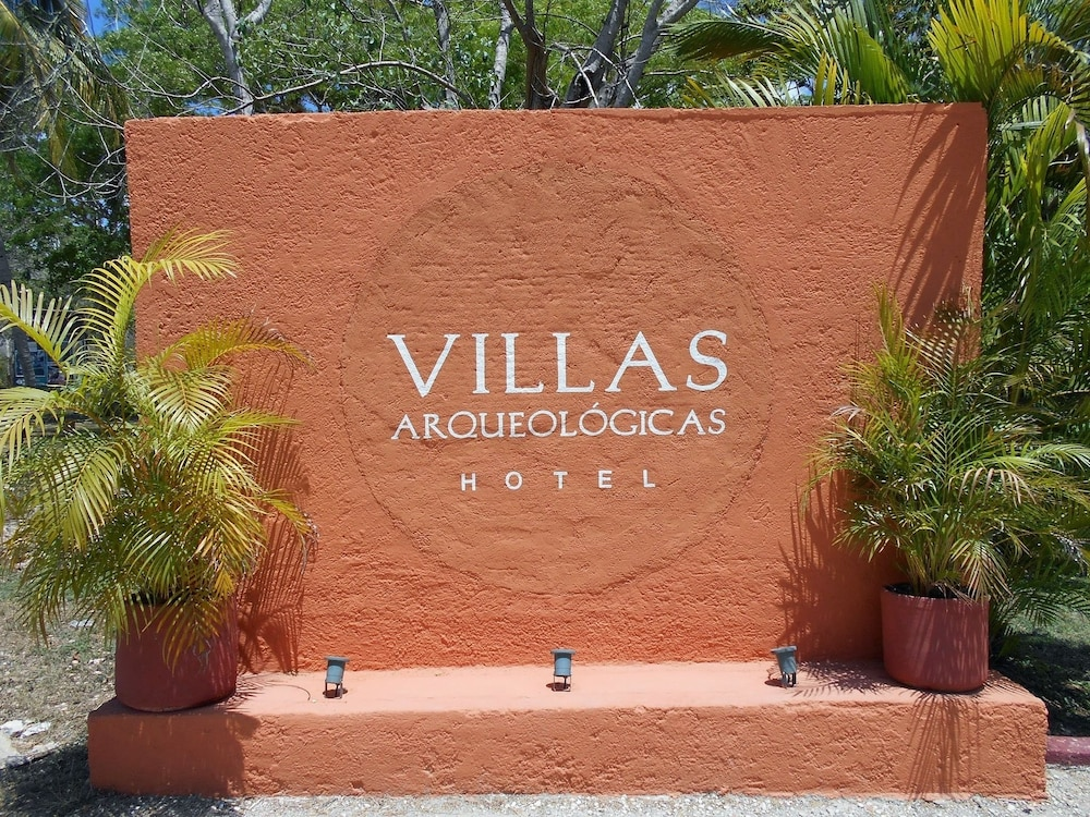 Property Entrance, Villas Arqueologicas Chichen Itza