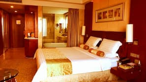Pillowtop beds, minibar, in-room safe, individually furnished
