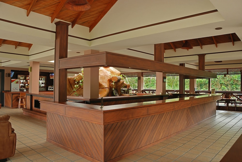 Check-in/Check-out Kiosk, Volcano Lodge Hotel & Thermal Experience