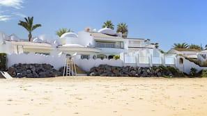 Private beach, beach cabanas, sun-loungers, beach umbrellas