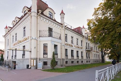 Pietarhovin Piiri Nahtavyydet Pietarhovin Palatsi Ja Puutarha