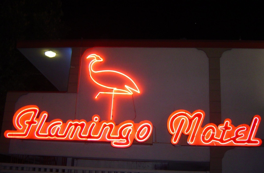 Front of Property, The Flamingo Motel