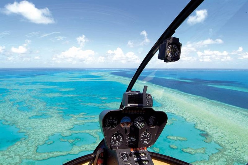 Helicopter/Plane Tours, Reef View Hotel