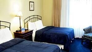 Egyptian cotton sheets, premium bedding, desk, iron/ironing board