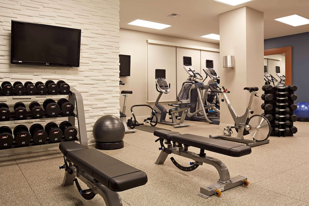 Fitness Facility, Hilton Richmond Downtown