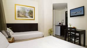 In-room safe, individually furnished, blackout drapes