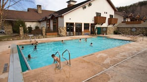 Indoor pool, outdoor pool, open 8:30 AM to 10:30 PM, sun loungers