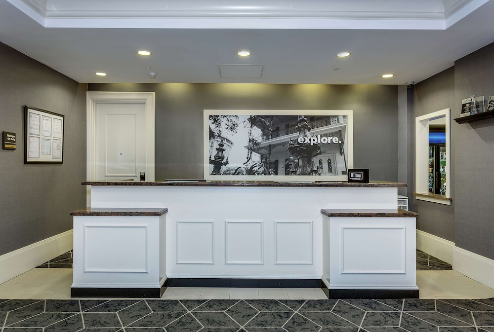 Reception, Hampton Inn & Suites Mobile- Downtown Historic District