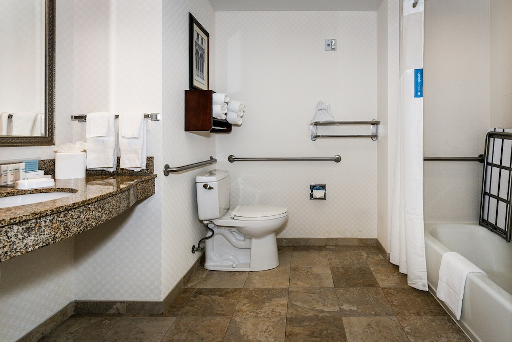 Bathroom, Hampton Inn & Suites Mobile- Downtown Historic District