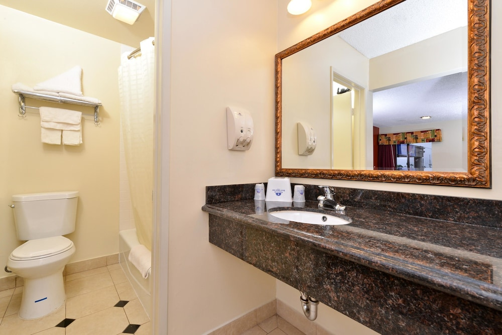 Bathroom, Americas Best Value Inn Redlands San Bernardino