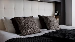 Premium bedding, pillow-top beds, minibar, soundproofing