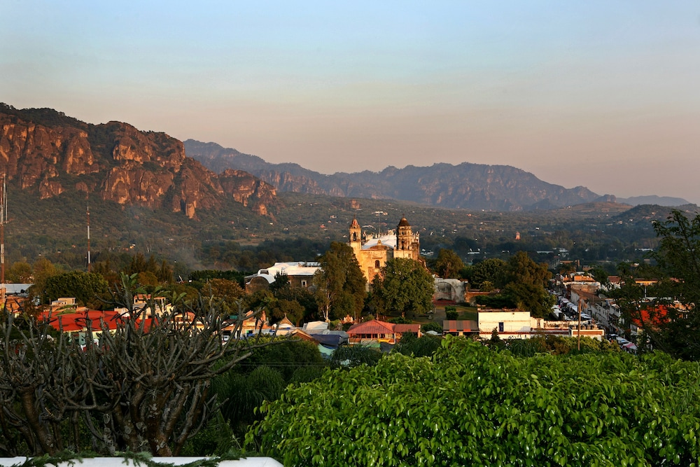 View from Property, Hotel Posada Del Tepozteco