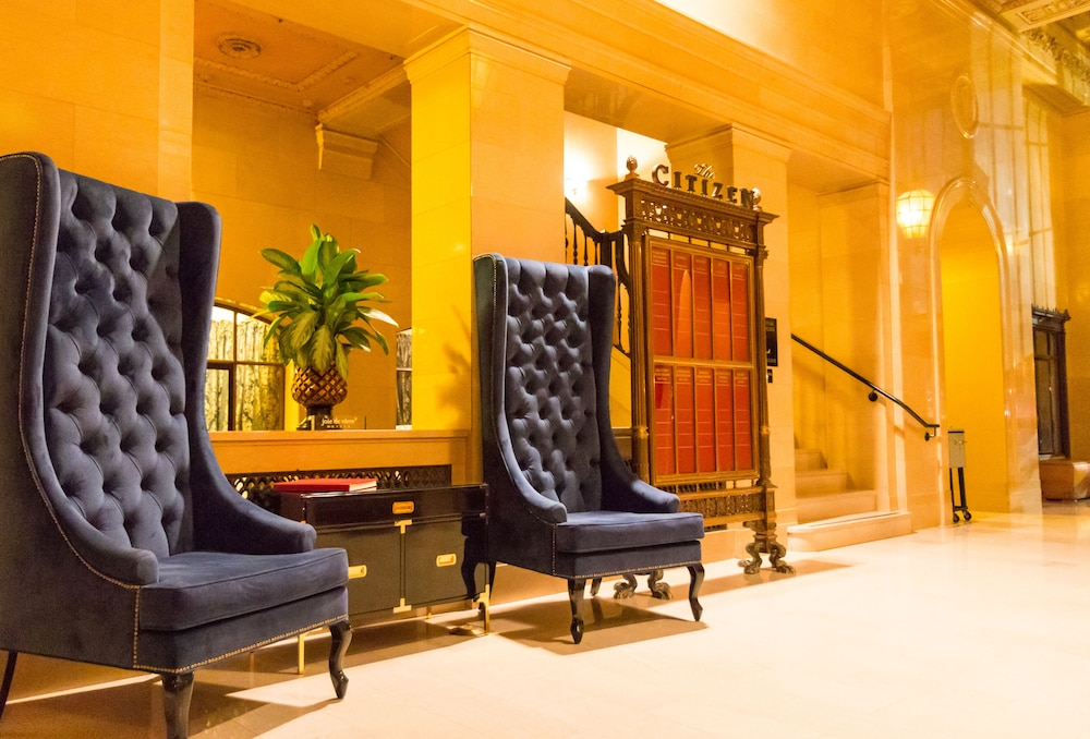 Lobby Sitting Area, The Citizen Hotel, Autograph Collection