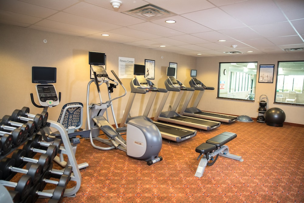 Fitness Facility, Holiday Inn Express Hotel & Suites Detroit-Novi