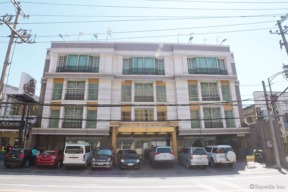 Front of Property, Makati Crown Regency Hotel